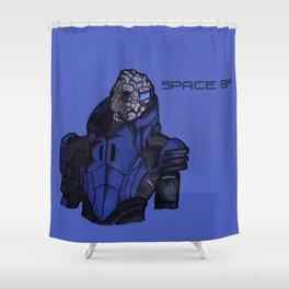 Garrus Shower Curtain