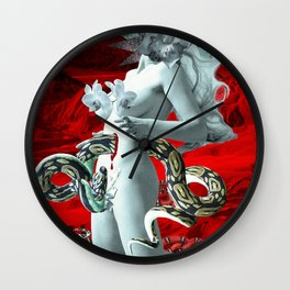 Venomous Desolation Wall Clock