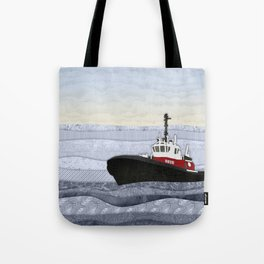 Tugboat Tote Bag