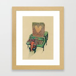 Valentine's day Framed Art Print