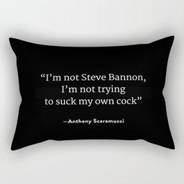 Steve Bannon Sucka Rectangular Pillow