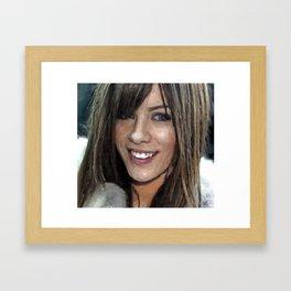 Portrait of Actress III Framed Art Print