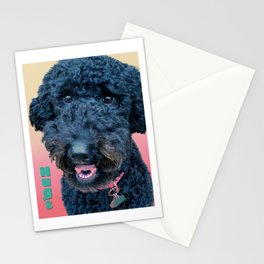 Poodle Hugs Stationery Cards