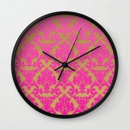 hazy cosmic jive Wall Clock