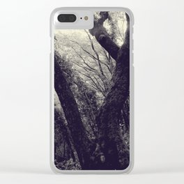 Italian forest Clear iPhone Case