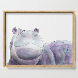 Happy Hippo Serving Tray