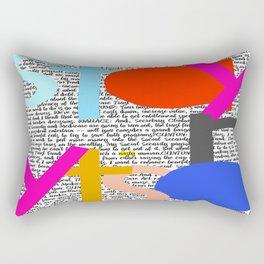Stay Nasty Rectangular Pillow