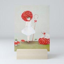 little bo peep Mini Art Print