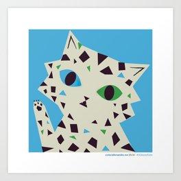 #30daysofcats 29/30 Art Print