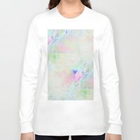cracked Long Sleeve T-shirts featuring cracked rainbow by Hoeroine