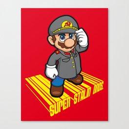 SUPER STALIN BROS. Canvas Print