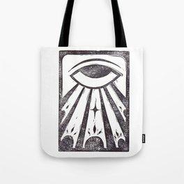 Clarity (White) Tote Bag