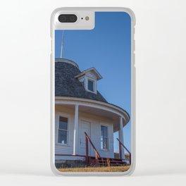 Hurd Round House, Wells County, North Dakota 18 Clear iPhone Case