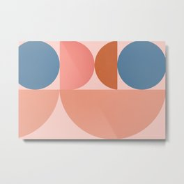 Abstraction_SHAPE_BALANCE_Modern_Monimalism_001 Metal Print
