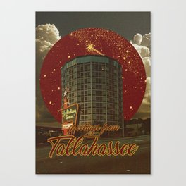 greetings from tallahassee Canvas Print