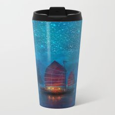 Our Secret Harbor Metal Travel Mug