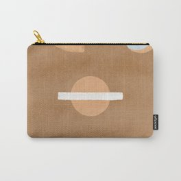 Windows, arch and the upside down world of abstract shapes Carry-All Pouch