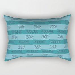 Walk This Way Rectangular Pillow