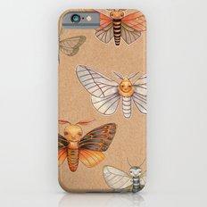 Un-Natural Selection: Carmine Stripee Halloween Moth Slim Case iPhone 6s