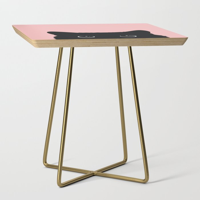 Black Cat Side Table