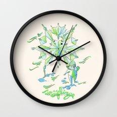 Snoflinga Wall Clock