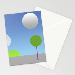 New moons Stationery Cards