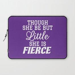Little & Fierce (Purple) Laptop Sleeve