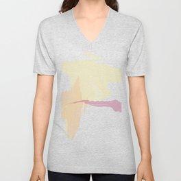 Fall Watercolor Unisex V-Neck