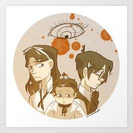 orphans Art Print