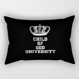 Child of God University Rectangular Pillow