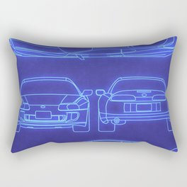 Supra Mk4 Rectangular Pillow