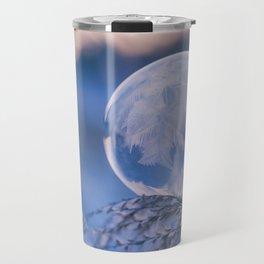 Beautiful Frozen Bubble Travel Mug