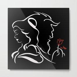 broken rose Metal Print