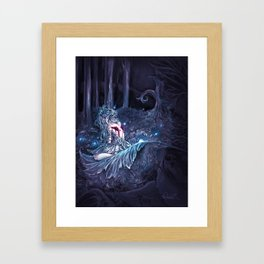 Broken Fairy Framed Art Print