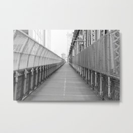 Cross Over Metal Print