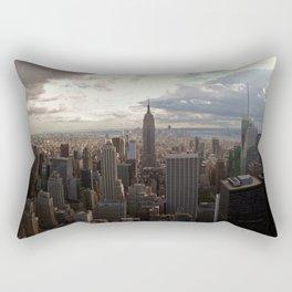 New York Skyline 1 Rectangular Pillow