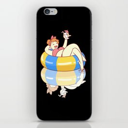 Summer Pool Party iPhone Skin