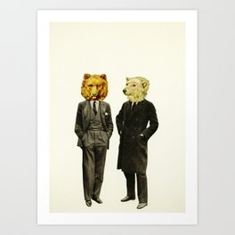 The Likely Lads Art Print