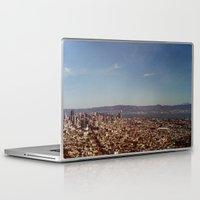twin peaks Laptop & iPad Skins featuring Twin Peaks by BarbaraJBarton