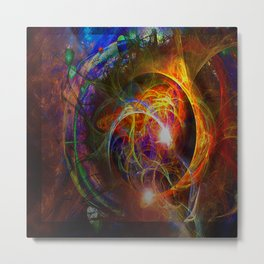 Time Eclipses All Metal Print