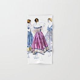 Vintage Dresses Hand & Bath Towel