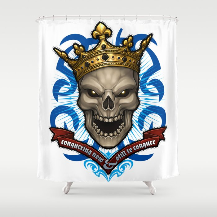 Laughing Lich King Shower Curtain