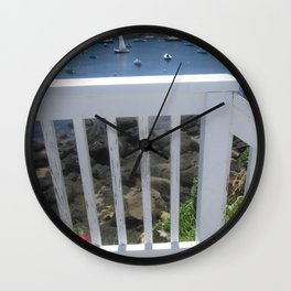 View from the Walkway Wall Clock