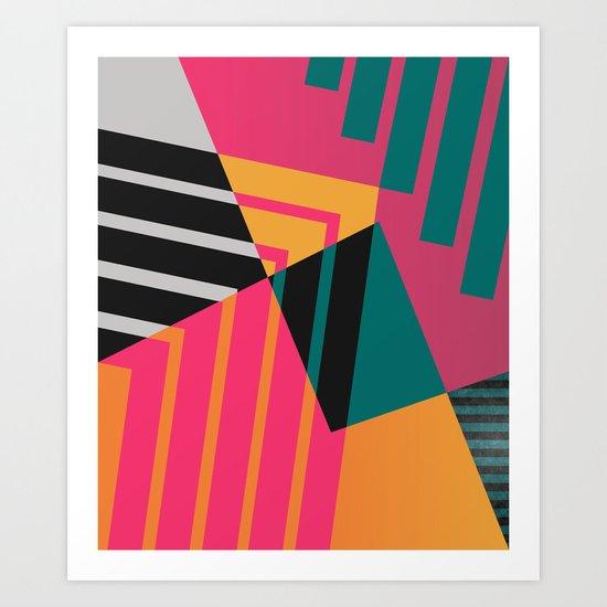 Geometric#23 Art Print