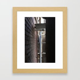do you mind? Framed Art Print