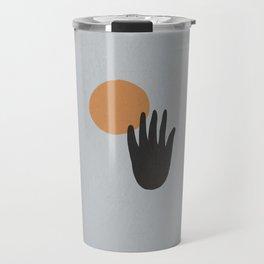 Hand Sun Travel Mug