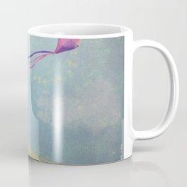 Baby Elephant Flying a Kite Coffee Mug