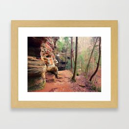 The Rock House 2 Framed Art Print