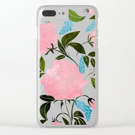 Rosy || Clear iPhone Case