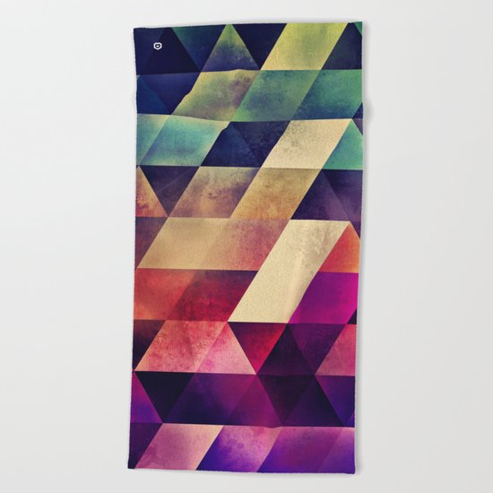 yvyr yt Beach Towel